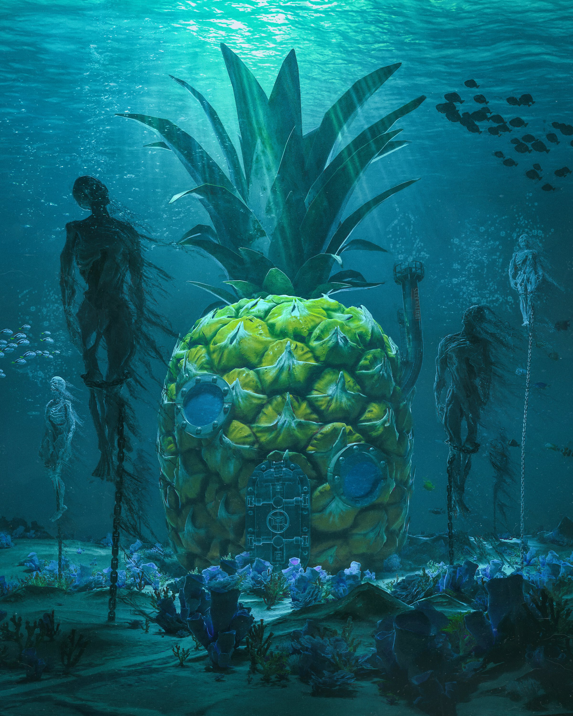 Undersea Pineapple 2020